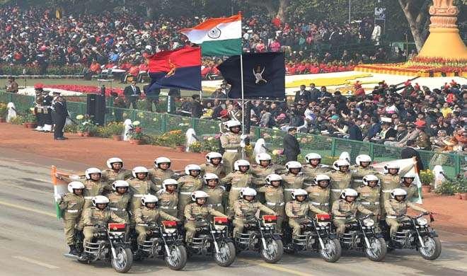 BSF women bikers- India TV