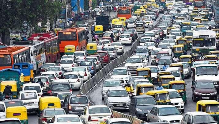 Delhi Traffic Jam- India TV Paisa