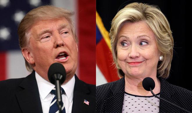 Donald Trump and Hillary Clinton | AP Photo- India TV