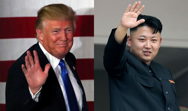 Donald Trump and Kim Jong Un | AP Photo- Khabar IndiaTV