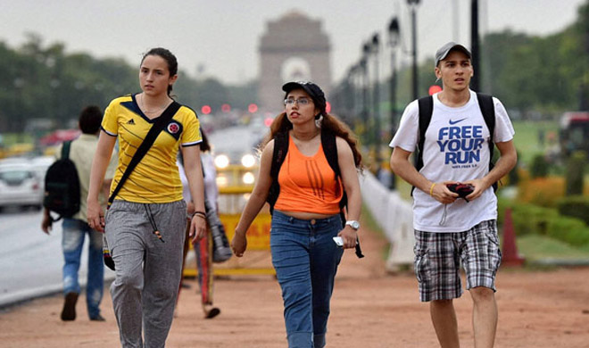 foreign tourists- India TV