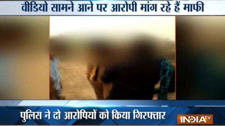 Greater-Noida-Two-youths-and-a-girl-thrashed-in-the-name-of-moral-policing-video-viral- India TV