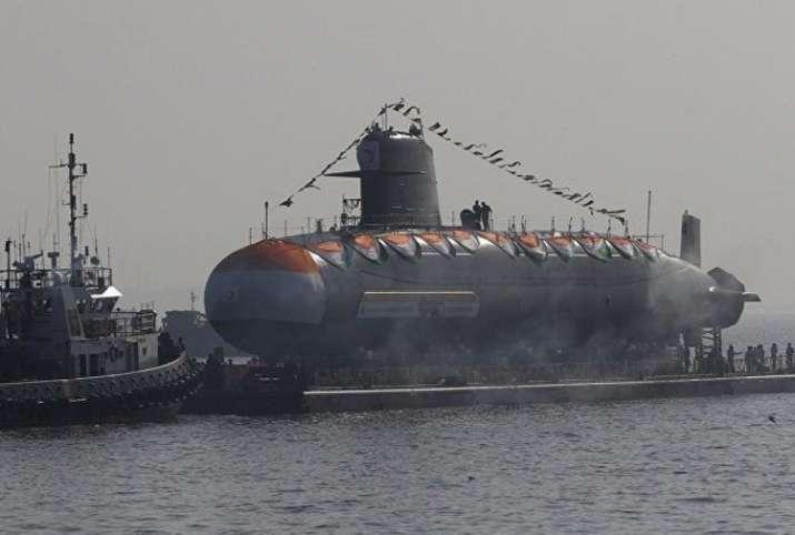 Third-Scorpene-class-submarine-Karanj-to-launched- India TV