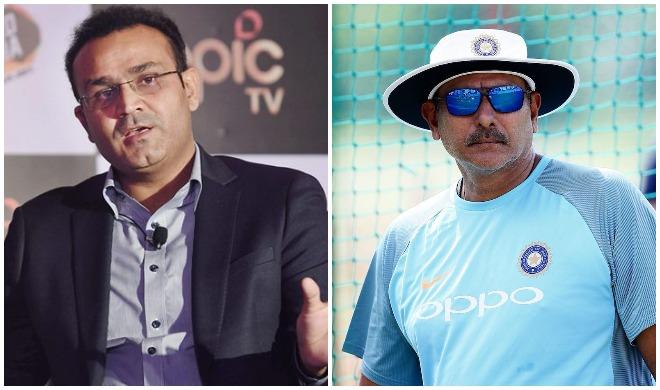 वीरेंद्र सहवाग और रवि...- India TV
