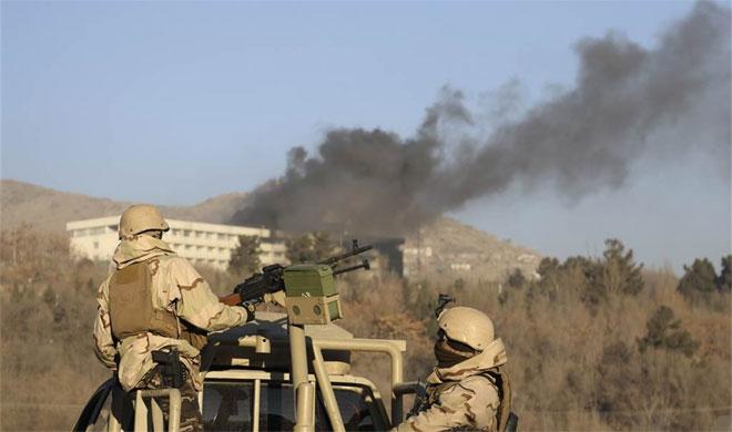 Kabul Hotel Attack | AP Photo- India TV
