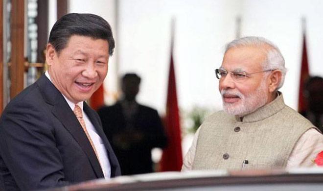 Modi and jingping- India TV