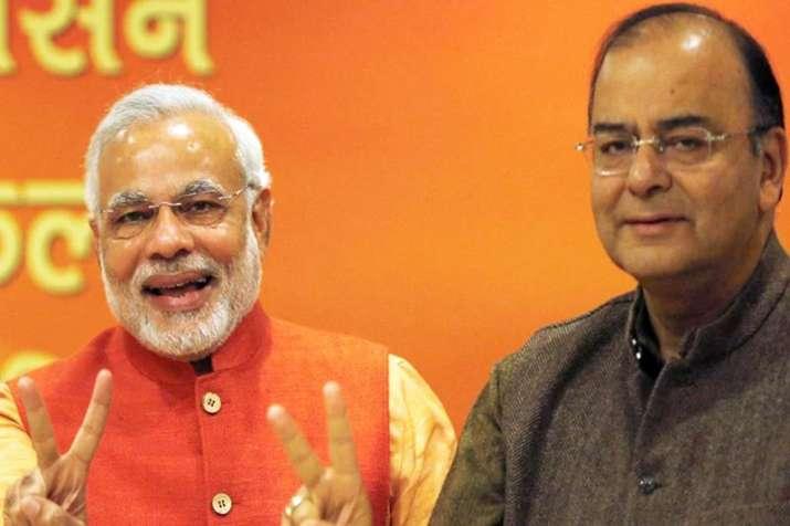 Modi and Jaitley- IndiaTV Paisa