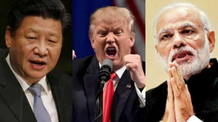 Modi-Trump- Xi-Jinping- India TV Paisa