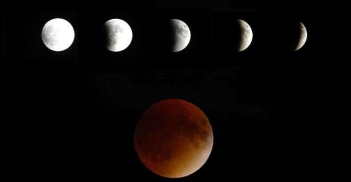 lunar eclipse 2018 SUPER MOON - India TV