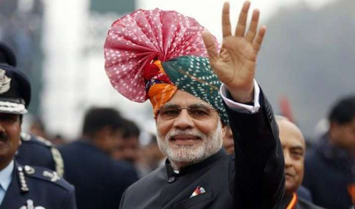 PM-Narendra-Modi-greets-countrymen-on-69th-Republic-Day- India TV