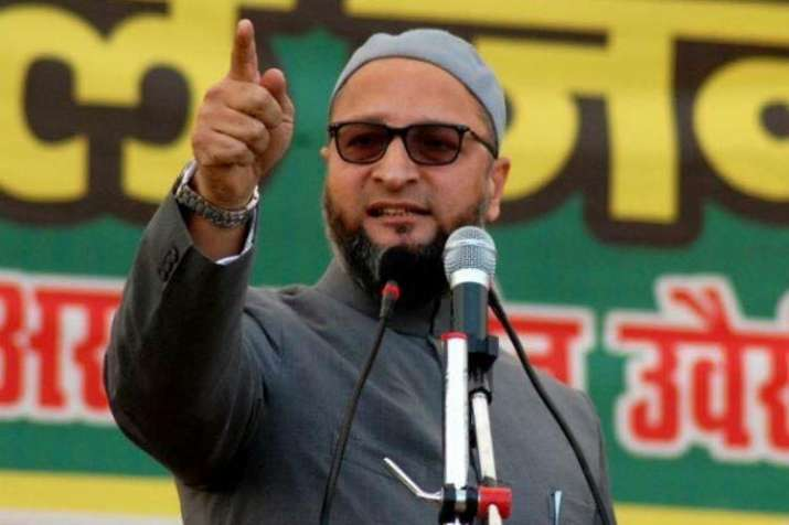 AIMIM-chief-Owaisi-controversial-remark-says-for-how-long-will-you-scare-us-in-the-name-of-temple- India TV