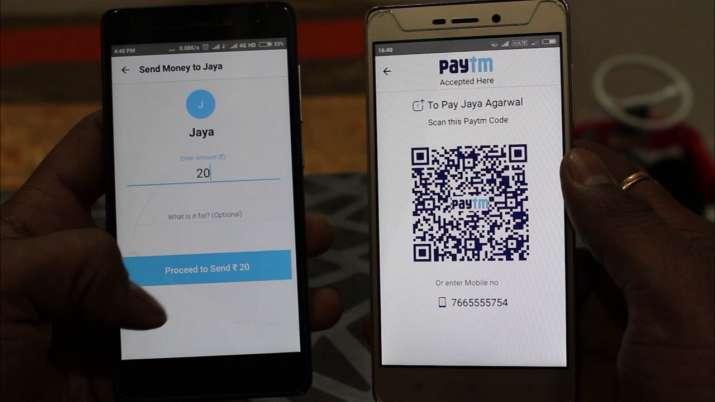 PayTM QR code- India TV Paisa