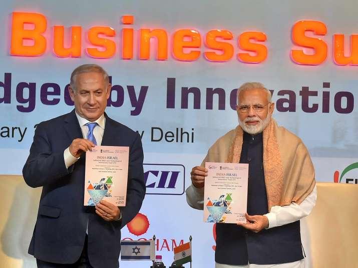 PM Modi With Benjamin Netanyahu- India TV Paisa
