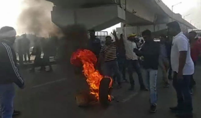 padmaavat protest- India TV