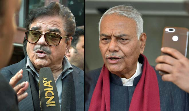 shatrughan sinha and yashwant sinha- India TV
