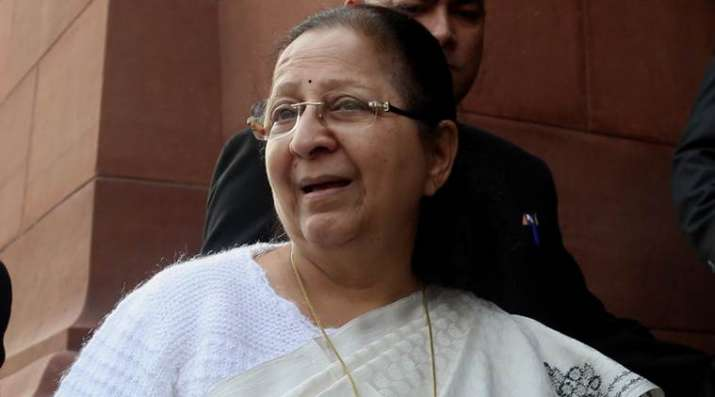 LS-Speaker-Sumitra-Mahajan-calls-for-all-party-meeting-ahead-of-Budget-session- India TV