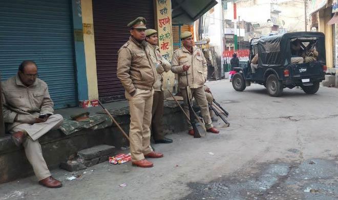 112 people arrested in kasganj violence- India TV
