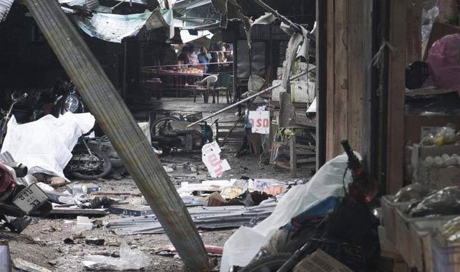 motor cycle bomb blast in thailand - India TV