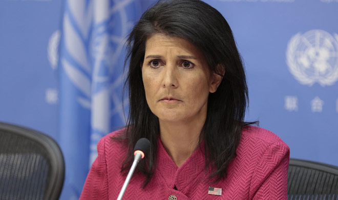 Haley said want to save nuclear deal then take action on...- India TV