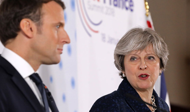 Teresa and Emmanuel agreed on a new border security...- India TV