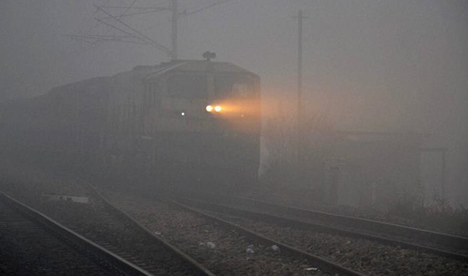 10 trains cancelled due to bad weather in Delhi- India TV