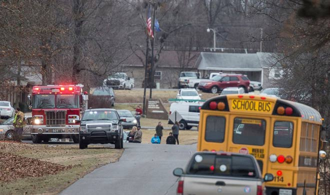 American school shootout two dead 17 wounded- India TV