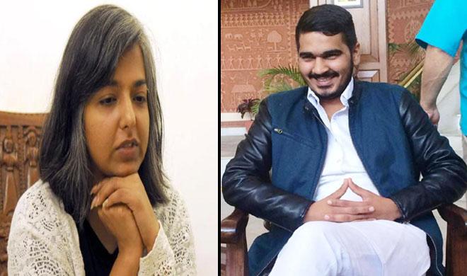 varnika kundu and vikas barala- India TV