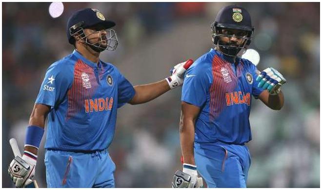 सुरेश रैना और रोहित...- India TV