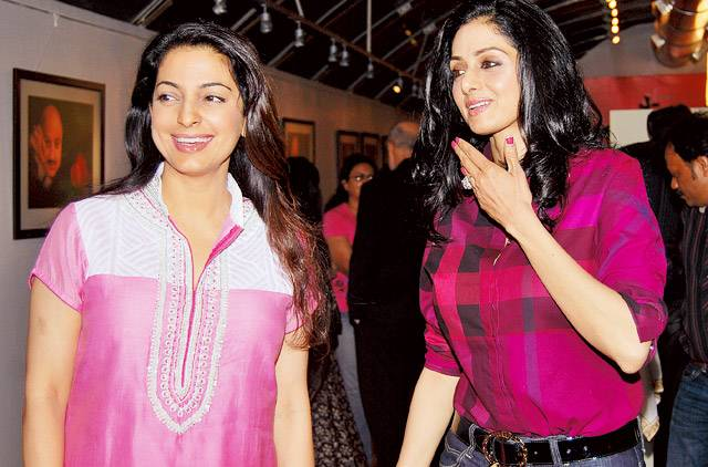 juhi and sridevi- India TV Paisa