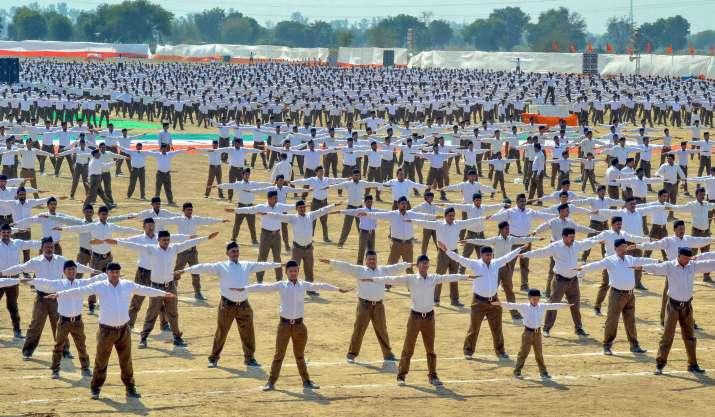 राष्ट्रीय स्वयंसेवक...- India TV