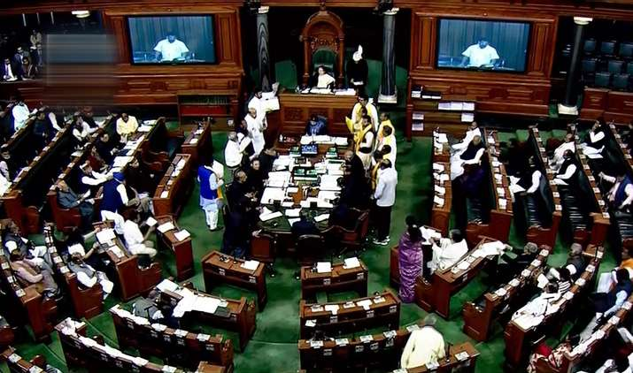 Lok-Sabha-Adjourned-for-a-Month-long Recess- India TV