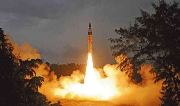 India-successfully-test-fires-nuclear-capable-Agni-1-missile- Khabar IndiaTV