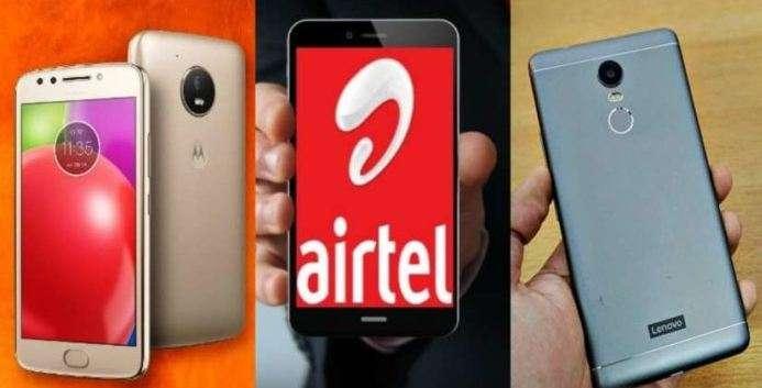 Airtel on Motorola and Lenovo Phone- India TV Paisa