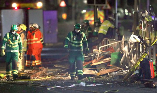 Blast destroys shop and home in Leicester leaving 4 dead | AP Photo- India TV