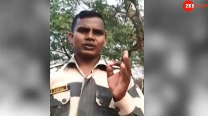 Uttar-Pradesh-Saharanpur-BSF-jawan-threatens-to-take-up-arms-if-not-get-justice- India TV