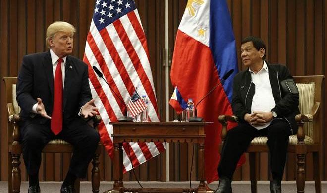 Donald Trump and Rodrigo Duterte | AP Photo- India TV
