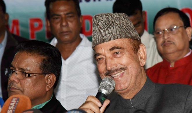 Ghulam Nabi Azad- India TV