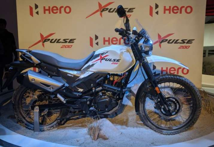 Hero Motocorp launches Xpulse 200 at Auto Expo 2018- India TV Paisa