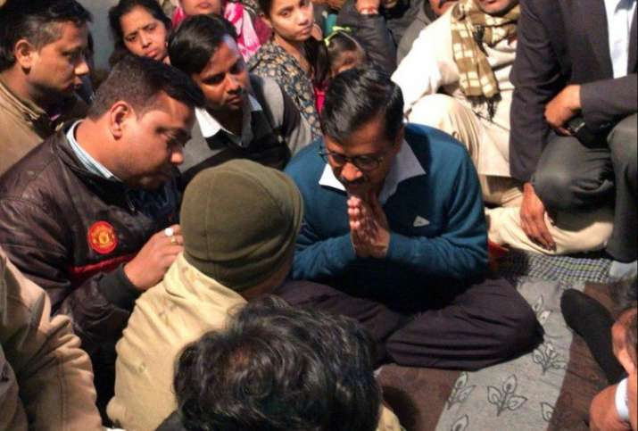 Delhi-CM-Kejriwal-leaves-Ankit-Saxena-prayer-meet-after-family-demands-Rs-1-crore-compensation- Khabar IndiaTV