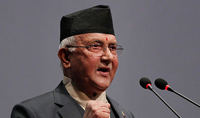 KP Sharma Oli | AP Photo- India TV