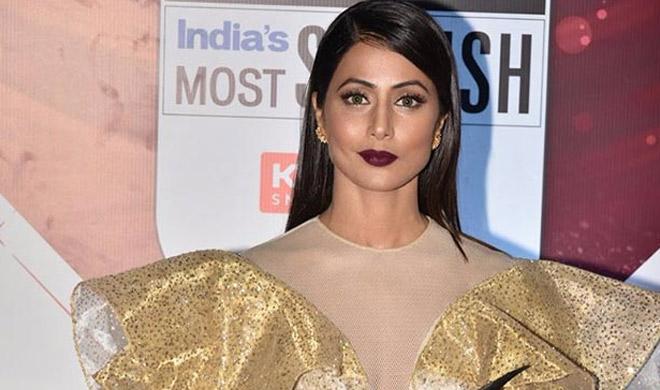hina khan at lakme fashion week- India TV