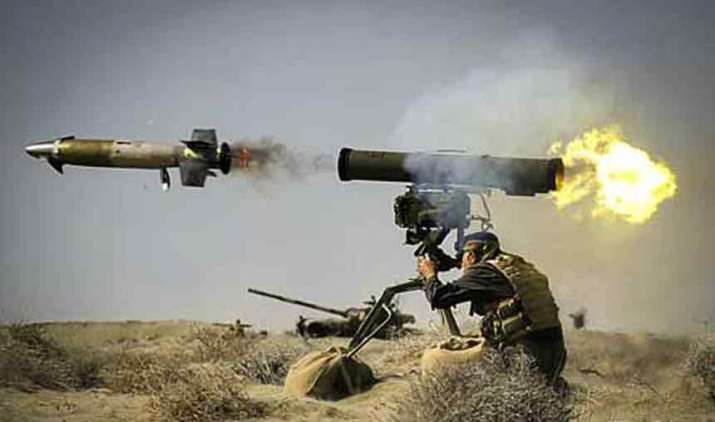 Pakistan-shells-areas-along-LoC-Indian-forces-fire-anti-tank-guided-missiles- India TV