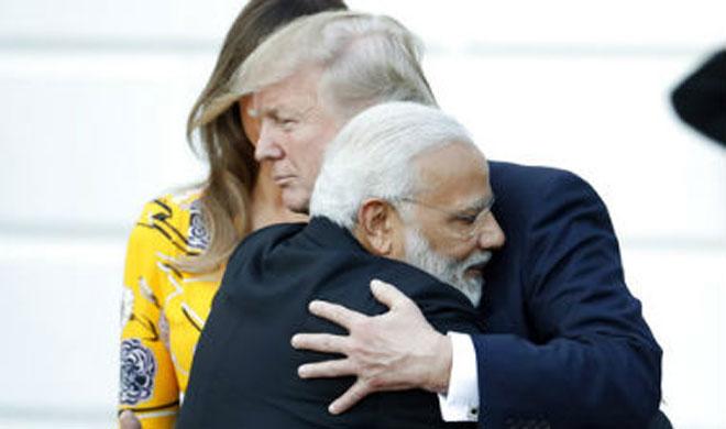 Narendra Modi and Donald Trump | AP Photo- Khabar IndiaTV