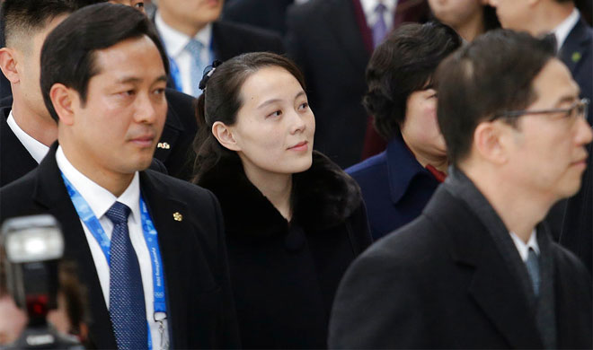North Korean leader Kim Jong Un's sister Kim Yo Jong | AP Photo- Khabar IndiaTV