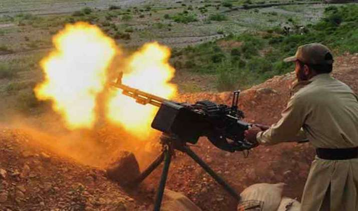 Pakistan-attacking-Indian-posts-with-China-made-missiles-to-take-revenge-of-Operation-All-Out- India TV