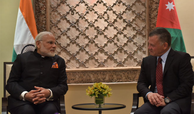 PM Modi meets King Abdullah II of Jordan- Khabar IndiaTV