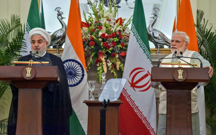 PM Narendra Modi with President of Iran Hassan Ruhani- India TV Paisa