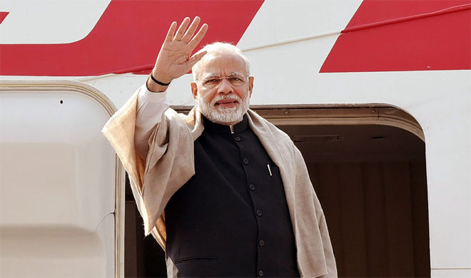 PM Narendra Modi on three nations visit | PTI Photo- India TV