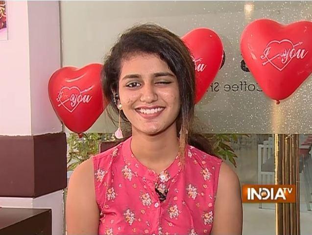 Priya Prakash India TV- India TV Paisa