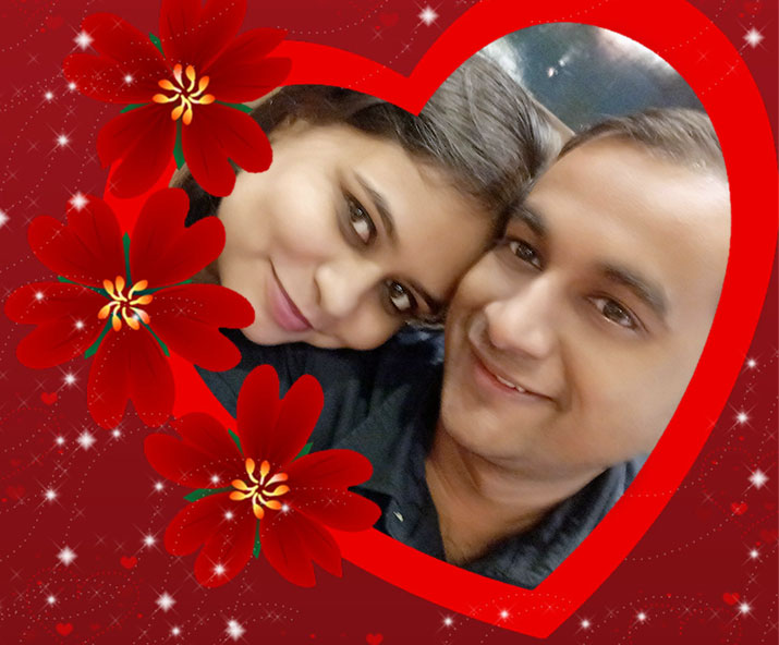valentine couple nisha-manish- Khabar IndiaTV